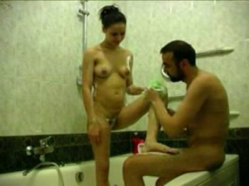 Incest porn with her daughter - Papic decided to wash her daughter