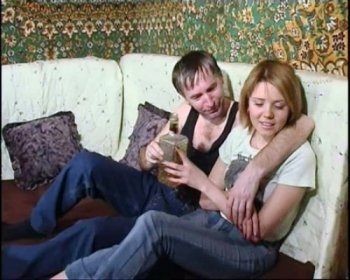 Incest porn - Daddy drunkard and shy blonde daughter
